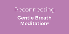 Thumb small reconnecting gentle breath meditation